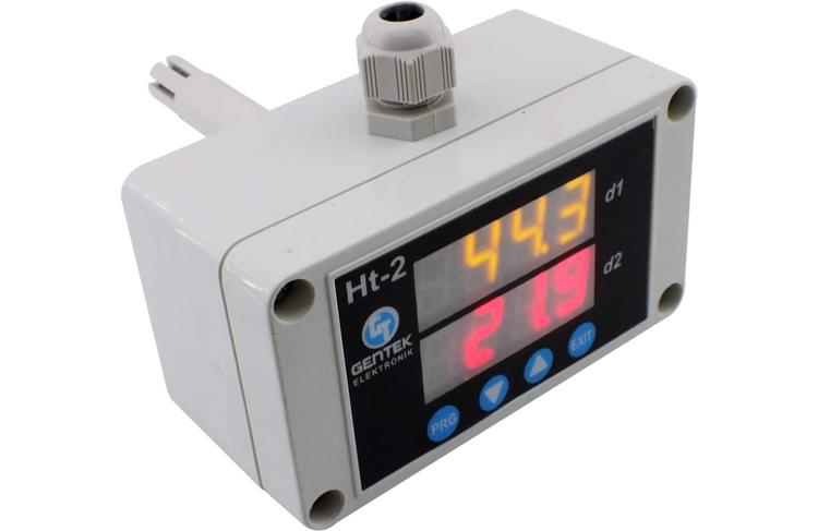 Indicated, Duck Type Temperature Humidity Transmitter